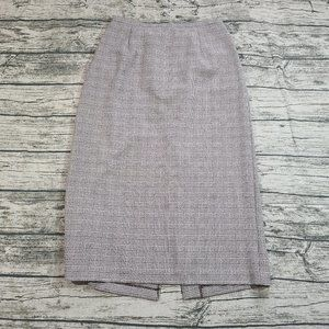 Unbranded Women's Brown Plaid Maxi Skirt